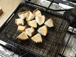 焼き茄子焼き椎茸カルパッチョ01