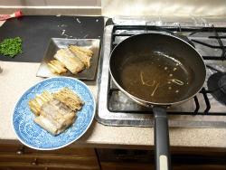 太刀魚バターしょうゆ煮23