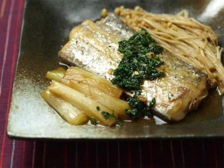 太刀魚バターしょうゆ煮37