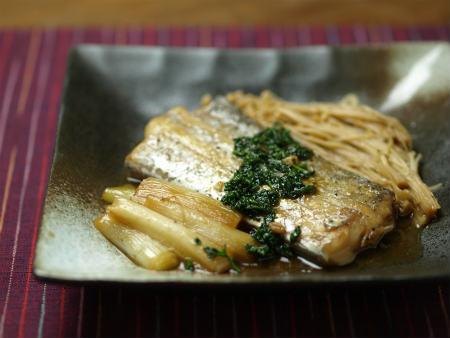 太刀魚バターしょうゆ煮45