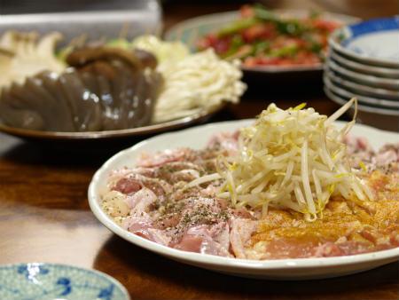 フライパン焼肉カツオサラダ18
