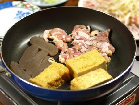 フライパン焼肉カツオサラダ19