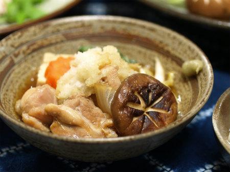 わさびおろしの鶏すき鍋24