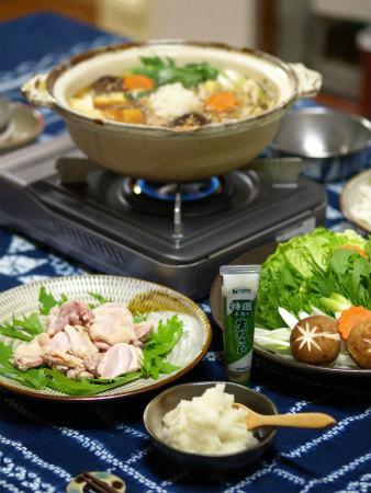 わさびおろしの鶏すき鍋23