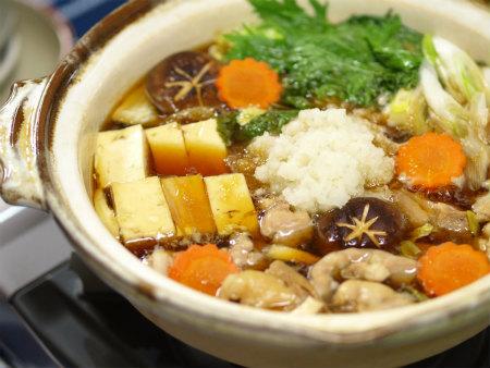 わさびおろしの鶏すき鍋07