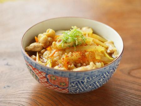 蕎麦屋さん風カレー丼18