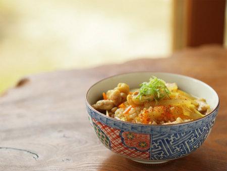 蕎麦屋さん風カレー丼20