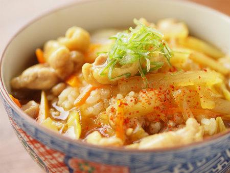 蕎麦屋さん風カレー丼15