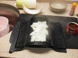 大根と赤貝のピリ辛レンジ煮06