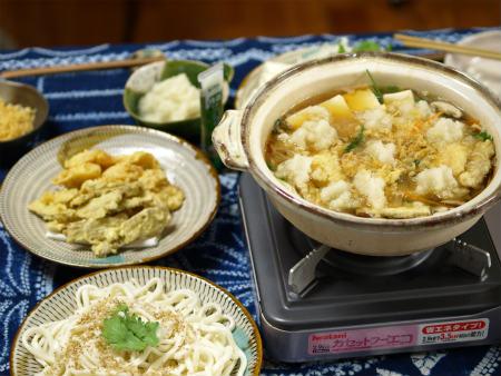 わさびおろしの天ぷら鍋16