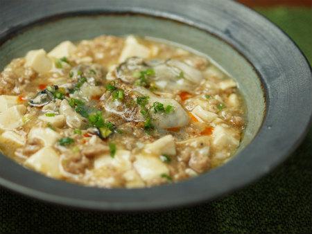 牡蠣マーボー豆腐28