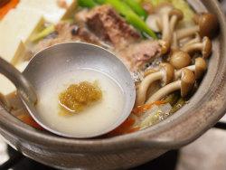 柚子こしょう風味の鯖鍋13