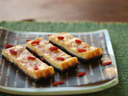クコの実チーズケーキ46