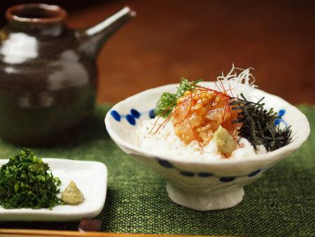 鯛もろみ味噌和えa18