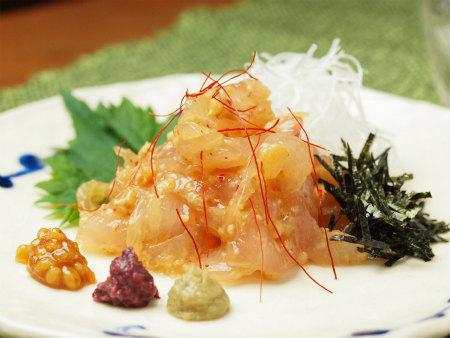 鯛もろみ味噌和えa10