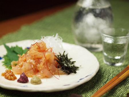 鯛もろみ味噌和えa11