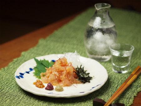 鯛もろみ味噌和えa06