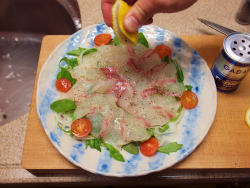 鯛カルパッチョ06