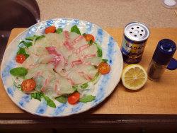 鯛カルパッチョ05