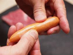 豚ヒレ肉のウインナー巻き11