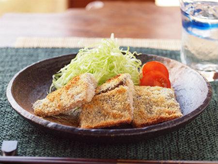 鯖のチーズパン粉焼き08