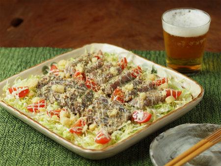 鰹のたたきサラダ26