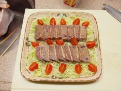 鰹のたたきサラダ13