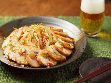 電子レンジ鶏チャーシュー37