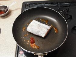 太刀魚豆板醤焼き16