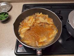 筍とあさりの豆板醤炒め18