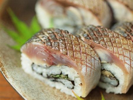 炙りしめ鯖寿司108
