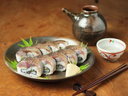 炙りしめ鯖寿司92