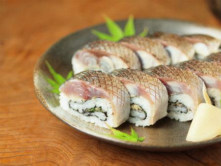 炙りしめ鯖寿司78