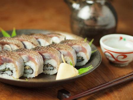 炙りしめ鯖寿司104