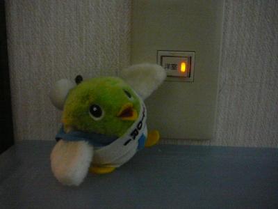 電気はこまめに消そうね