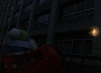 県庁が真っ暗だよ
