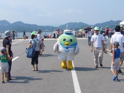 平成19年の中海環境フェアに参加したよ