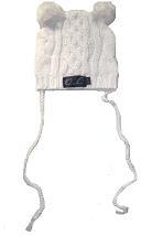 Oobi Baby ケーブルニットハット/ Snowball Cable Bear Hat詳細・購入ページへ