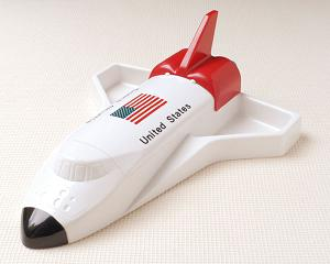 お子様ランチプレート スペースシャトル