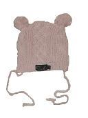Oobi Baby ケーブルニットハット/ Pink Cable Knit Bear Hat詳細・購入ページへ