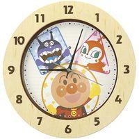 【掛け時計】セイコー それいけ!アンパンマン電波クロック