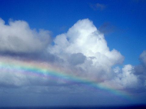 ハワイの虹(セドナの陽だまり)