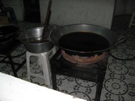 テンプラ鍋