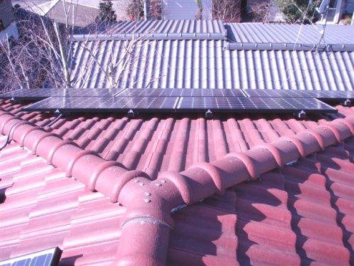 屋根上からパチリ