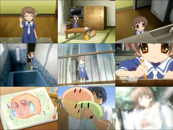 (#アニメ) CLANNAD ~AFTER STORY~ 第19話 「家路」.avi_000629879_s