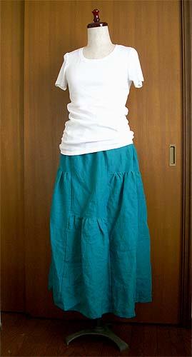 20080629変形ギャザースカート②