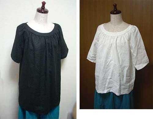 \20080708ブラックリネンシャツ③