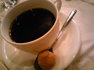 「コーヒー」トラットリア・デル・チェーロ(福岡市)