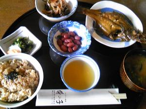 「日替り定食」竹の子(遠賀郡)