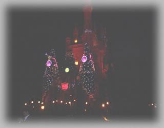 シンデレラ城 夜